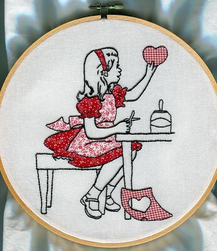 Vintage Valentine Embroidery & Applique
