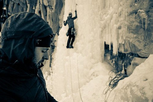 From the belay