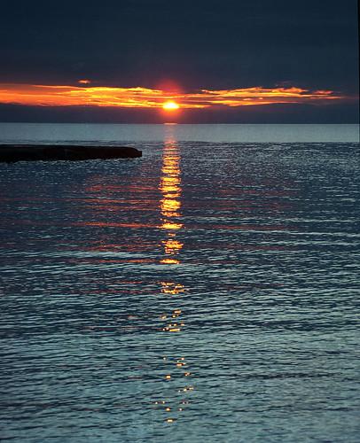 tramonto di fine anno