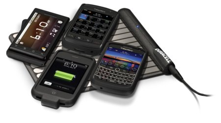Duracell MyGrid with 4 phones