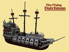 The Flying Dutchman (2 Much Caffeine) Tags: lego pirates piratesofthecaribbean flyingdutchman moc