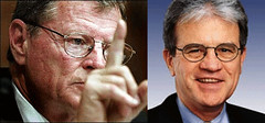Image of U.S. Sens. Jim Inhofe and Tom Coburn