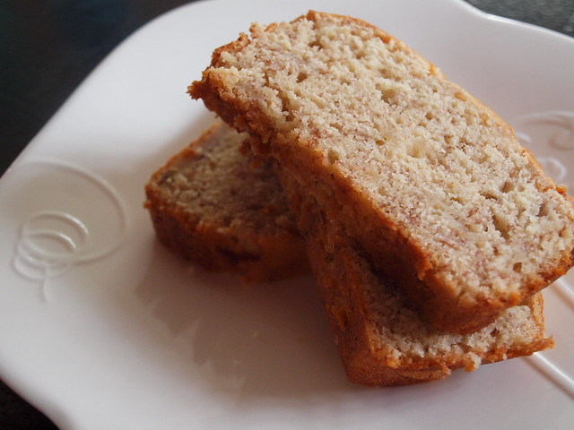 my low fat banana bread