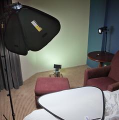 Hotel room Lighting Setup (William Yu Photography / Photo Workshops) Tags: lighting portrait setup strobist