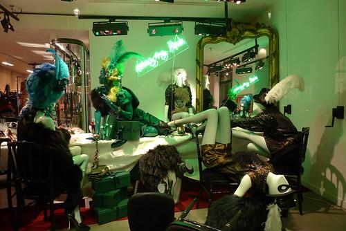 Vitrines Lanvin - Paris, décembre 2010