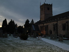 Images of Kirkby Lonsdale (Tony Worrall) Tags: uk england building tower church architecture buildings evening town shadows village dusk north spire cumbria stmaryschurch kirkbylonsdale