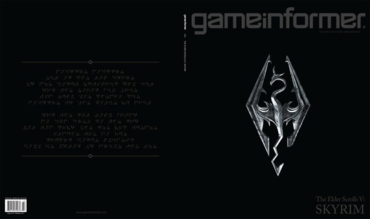 GameInformer Reveals Skyrim Issue with Cover Puzzle