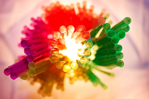 The Joy of Colorful Straws :)