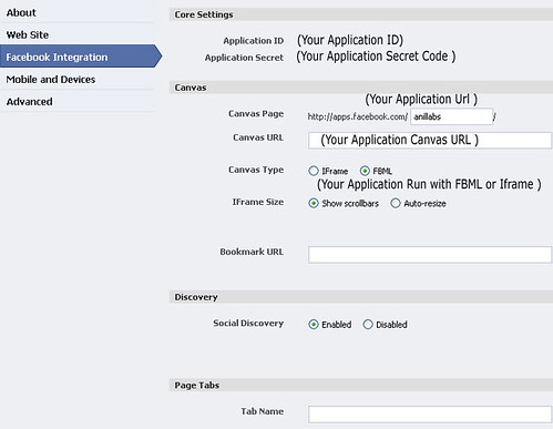 Simple steps to build the facebook application | Anil Labs