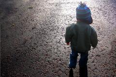 Wandering Kid (Kninki) Tags: hat path warleywoods boychild