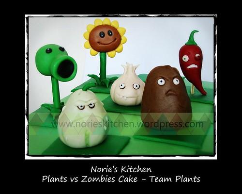 Norie s kitchen plants vs zombies team plants