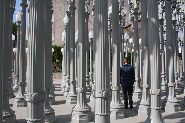 chris burden at lacma