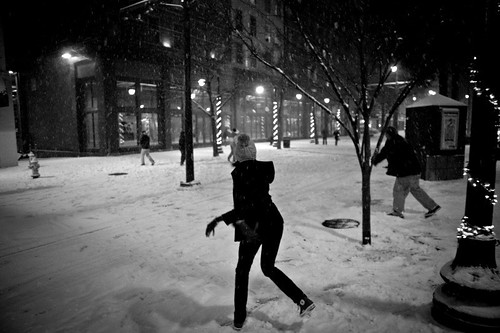 downtown memphis snowball fight