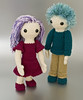 Amigurumi Girl and Boy