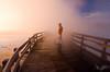 Dan Sherman Photography (Dan Sherman) Tags: portrait selfportrait fog sunrise landscape landscapes foggy boardwalk wyoming yellowstonelake dansherman wyomingnationalparks wyominglandscape danielsherman wyomingsunrise wyomingnationalpark danshermanphotography danshermanphotographycom danielshermanphotography