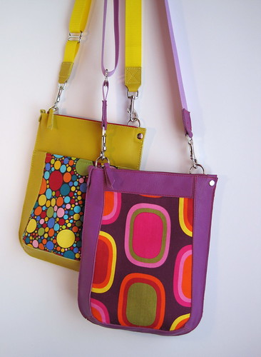 two new flap bags