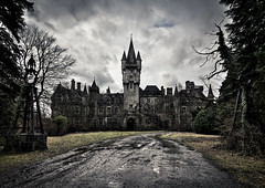 Castle of decay (Luuk de Kok) Tags: old autumn light sky cloud brown moon house mountain black building castle art home nature beautiful fog stone illustration vintage dark paper design scary ancient ruins pattern photographer darkness belgium outdoor decay magic grunge fear great gothic ardennen gray ruin scenic belgi evil ground medieval dirty creepy frame horror backgrounds aged disturbing miranda chateau noisy urbanexploring urbex ghosted luuk earthview abandonedcastle chateaumiranda chateaunoisy belgi luukdekok scarluuk photographystudentphotographer castleofdecay