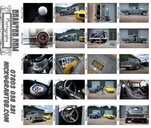 Two Lane Blacktop Contact Sheet 1