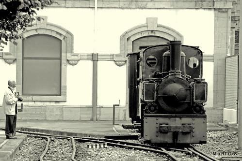 y hablaban de los trenes de nuestra infancia