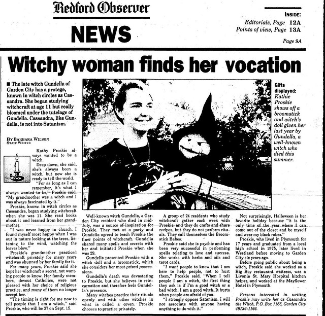 Witchy woman finds her vocation