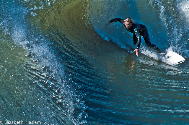 ocean california surf hand power drink surfer awesome tube handsome wave surfboard blonde cayucos wetsuit mattking