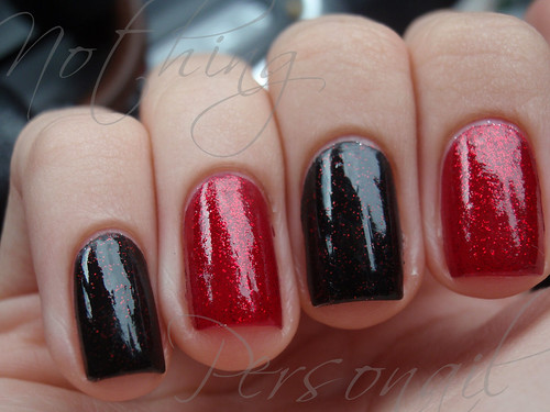 China Glaze Ruby Pumps & Lubu Heels