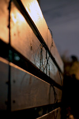January Fourteenth. (redaleka) Tags: wood light sky reflection fence perspective jonathon lockwood hff huie januaryfourteenth threehundredsixty