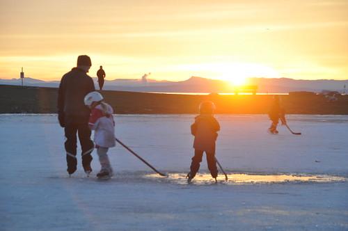 TRR: Garry Point Sunset Hockey