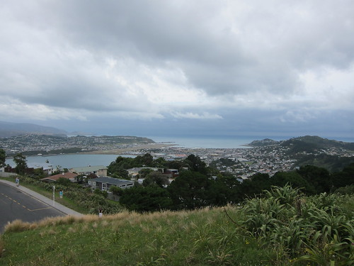 Wellington, looking towards the Miramar Peninsula