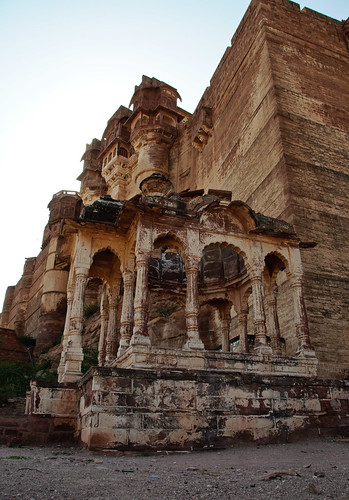 Mehrangarh Fort Walls