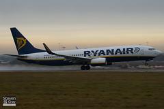 EI-DWO - 36079 - Ryanair - Boeing 737-8AS - Luton - 110106 - Steven Gray - IMG_7583