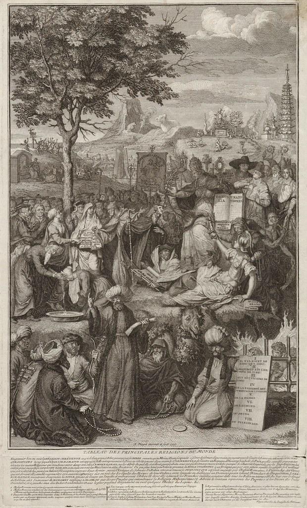 Tableau des Principales Religions du Monde