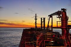 bow bracaria (Rhannel Alaba) Tags: sunset england seascape by sunrise lens landscape photography nikon ship captured terminal bow 18 chemical tankers tees 105mm d90 nikor alaba odfjell rhannel bracaria