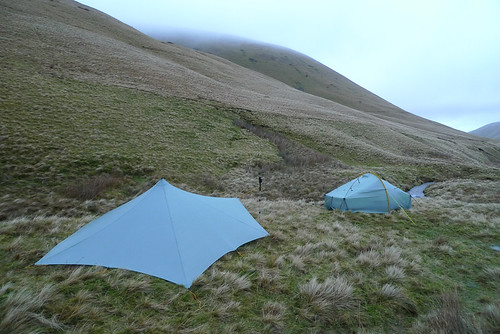 Wild camp in bowerdale