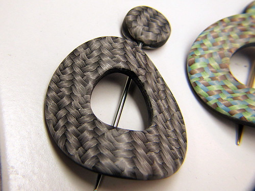 Shawl pins, sanded and buffed