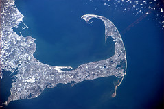 In which US state is this distinctive coastline? (astro_paolo) Tags: capecod massachusetts nasa iss esa internationalspacestation earthfromspace europeanspaceagency expedition26 magisstra