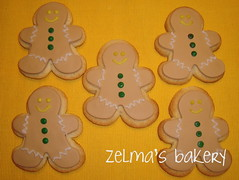 Sugar Cookies - Gingerbread Men