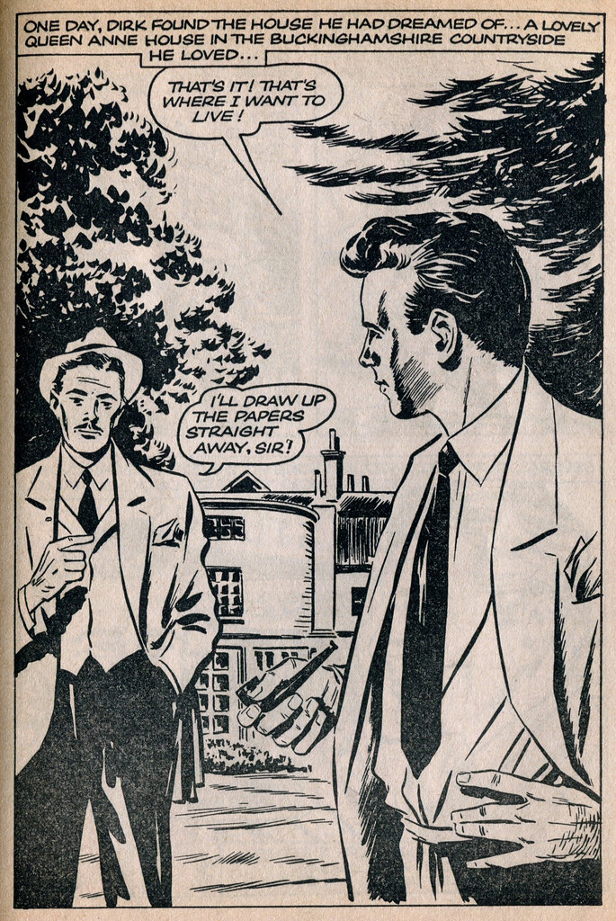 Dirk Bogarde comic 18