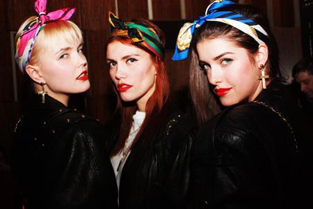 The Rio Girls at Cinéma - Bonnie Strange, Jackie Hide, Marie Nasemann
