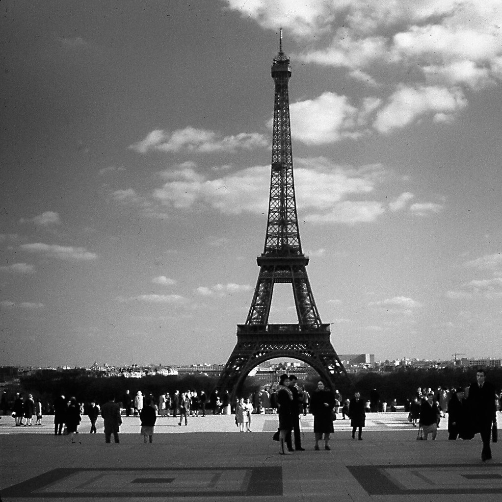 March 1967 -- Eiffel Tower from the Palais de Chaillot