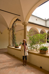 (Pug!) Tags: italy freeassociation europe arch jenny pillar tuscany column pienza