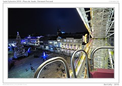 Saint-Sylvestre 2010, Place de Jaude [ + 200.000 visits - thanks !] (BerColly) Tags: reveillon france night google flickr nuit auvergne clermontferrand puydedome jaude bercolly