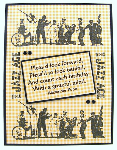 HA Jazz Age Card