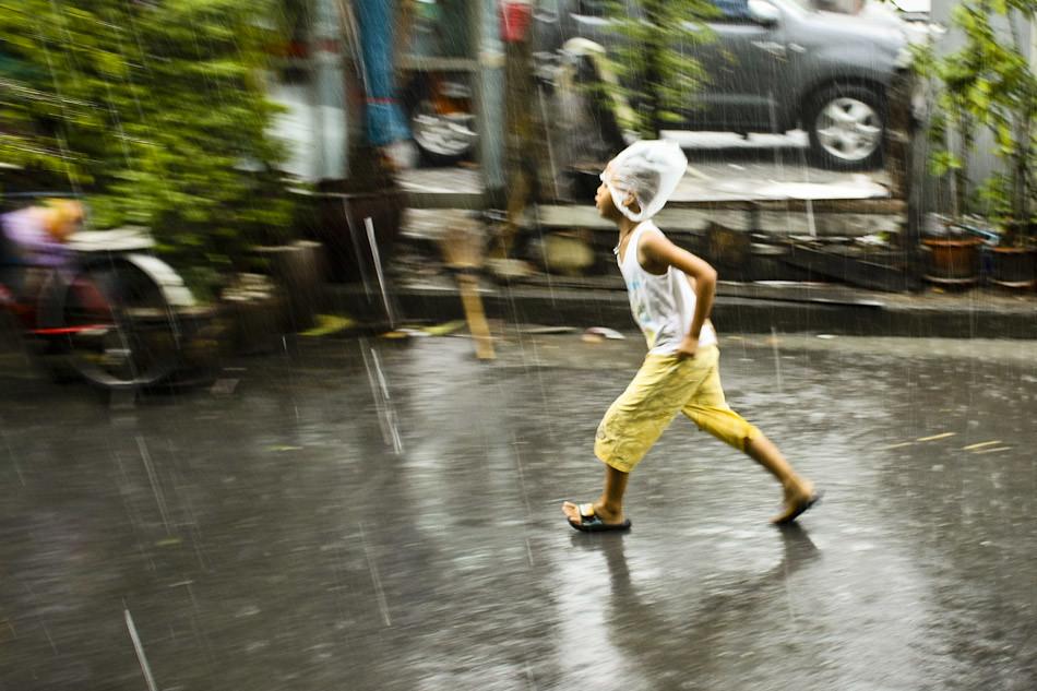Surprise Rainstorm in Bangkok