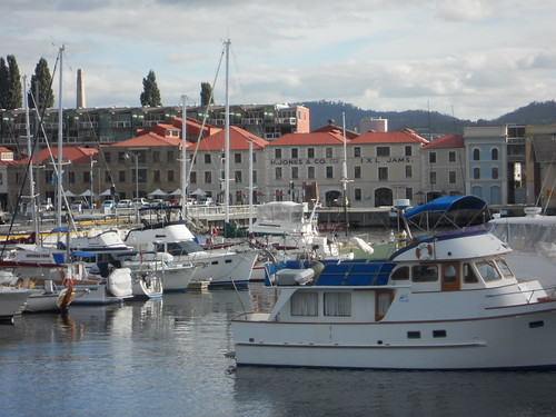 Hobart Waterfront by mikecogh, on Flickr