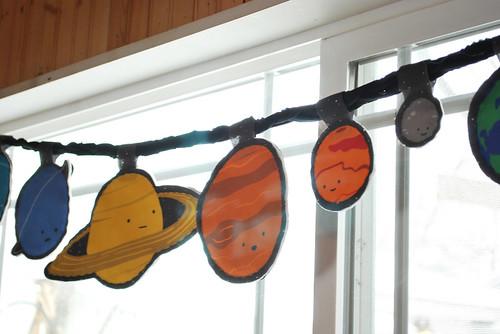 solar system banner