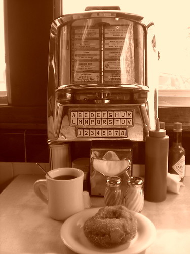 Blue Benn Diner juke box