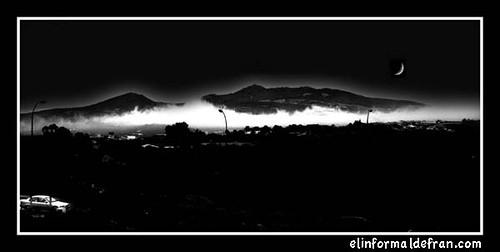 Gurugú de noche
