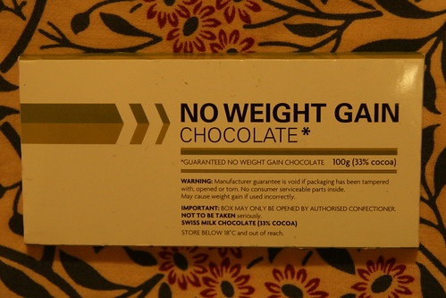 No Weight Gain Chocolate
