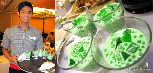 4 Servings of Buko Pandan Solo